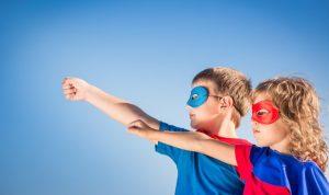 superhero-children